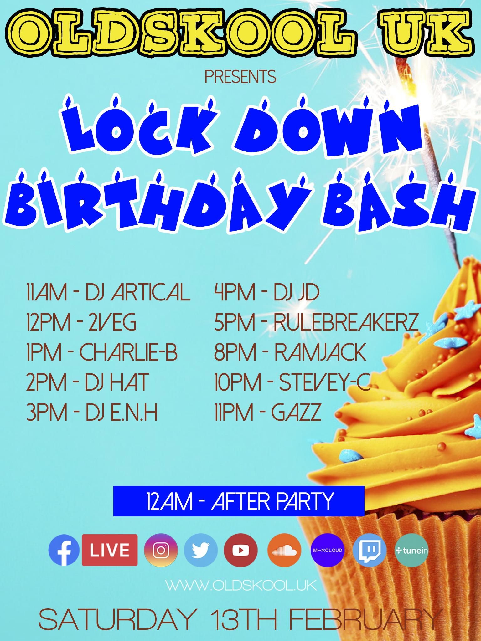 LOCK DOWN BIRTHDAY BASH