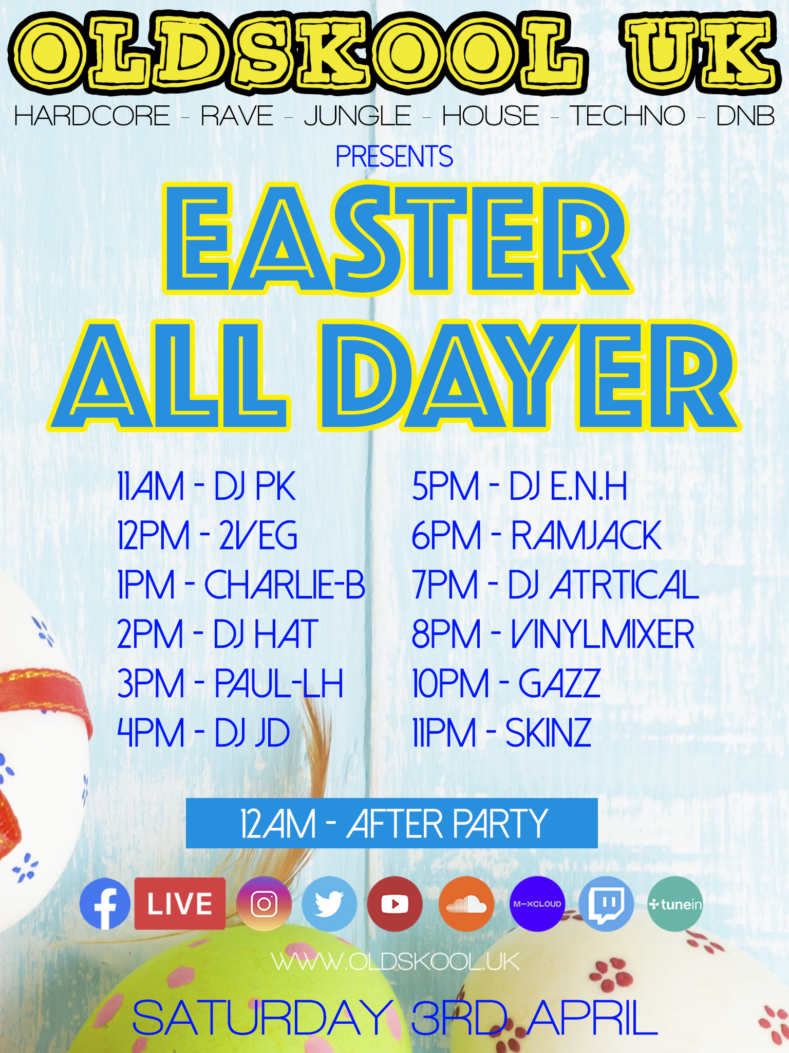 EASTER ALL DAYER